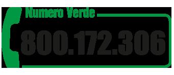 Numero Verde 800.172.306